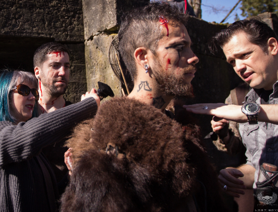 Vikings behind the scenes